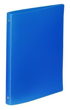 """Krúžkový šanón, 4 krúžky, 25 mm, A4, PP, VIQUEL """"Standard"""", modrý"""