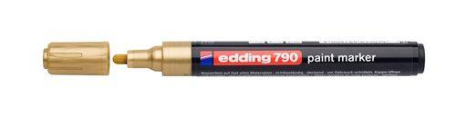 """Lakový popisovač, 2-3 mm, EDDING """"790"""", zlatý"""