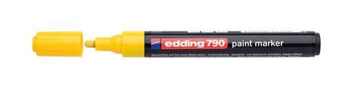 """Lakový popisovač, 2-3 mm, EDDING """"790"""", žltý"""