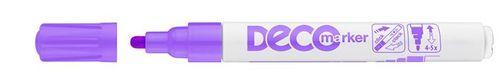 """Lakový popisovač, 2-4 mm, ICO """"Decomarker"""", fialový"""