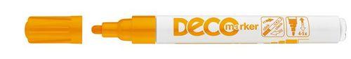 """Lakový popisovač, 2-4 mm, ICO """"Decomarker"""", oranžový"""