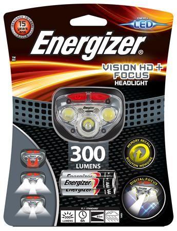 "Lampa na hlavu, 3 LED, 3xAAA, ENERGIZER ""Headlight Vision HD Focus"""