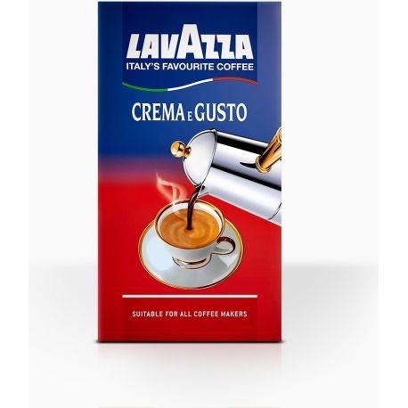 Lavazza Crema e Gusto mletá vákuová 250 G