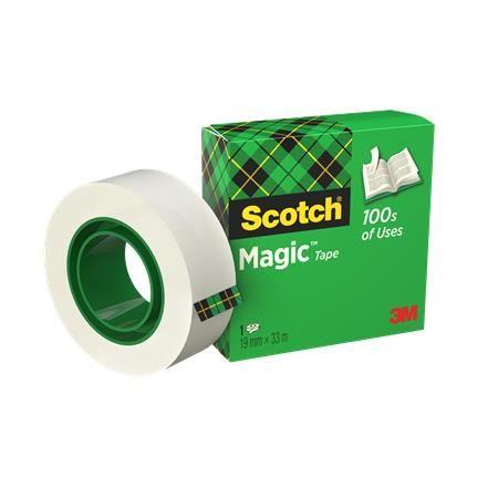"""Lepiaca páska, 19 mm x 33 m, 3M SCOTCH """"Magic Tape 810"""""""