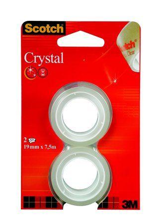 "Lepiaca páska, 19 mm x 7,5 m, 3M SCOTCH ""Crystal"""