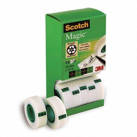 """Lepiaca páska, 2 ks darček, 19 mm x 33 m, 3M SCOTCH """"Magic tape"""""""