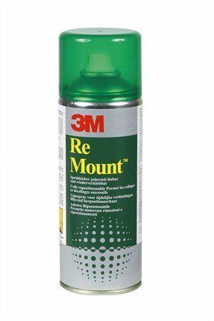 """Lepiaci sprej, 400 ml, 3M SCOTCH """"ReMount"""""""