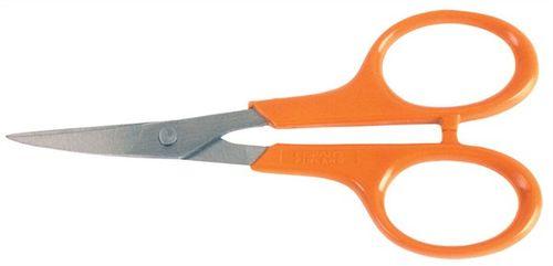 """Manikúrové nožnice, 10 cm, zahnuté, FISKARS """"Classic"""", oranžové"""