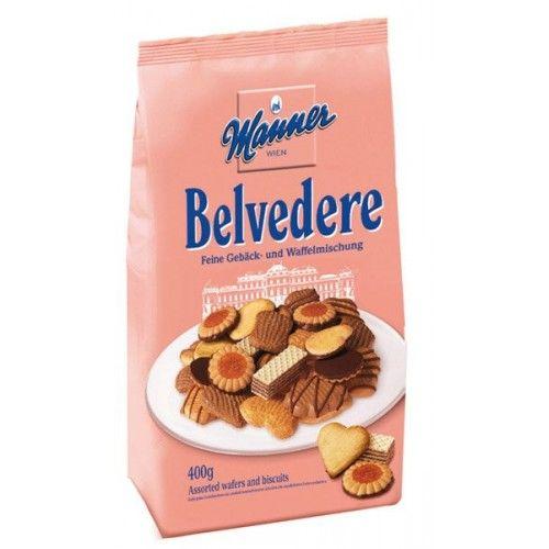 Manner Belvedere zmes čajového pečiva 400g