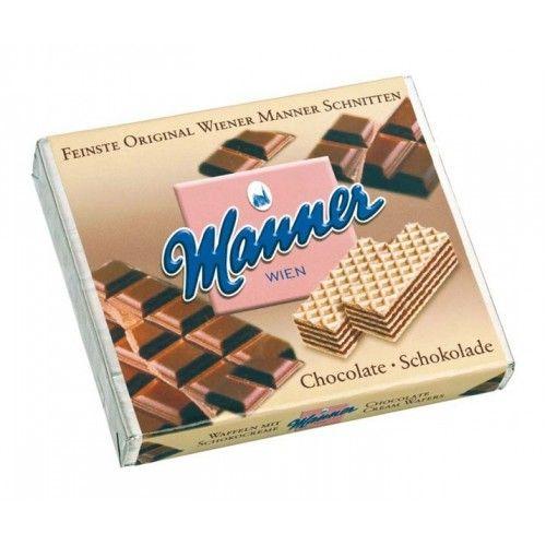 Manner oblátky čokoládové 75g