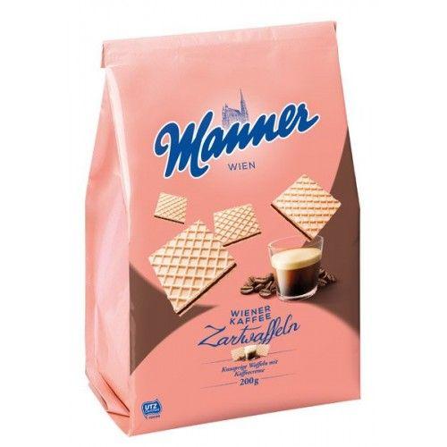 MANNER oblátky Viennacoffe 200g