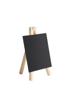 Mini kriedová, stojanová tabuľa, 17,5x 26 cm, VICTORIA