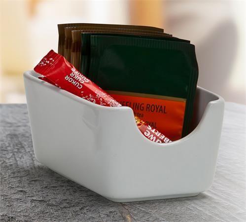 """Miska na cukor a čajové filtre, 11x7,5 cm """"CoffeeTime"""""""