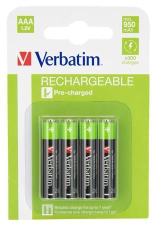 "Nabíjateľné batérie ""AAA"" (mikrotužkové batérie) ""Premium"""