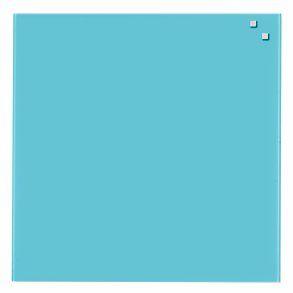 Naga Glassboard 45x45 cm, sklenená magnetická tabuľa, tyrkysová