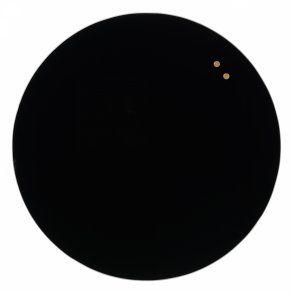 Naga Glassboard Circle, sklenená magnetická tabuľa, kruh 45 cm, čierna