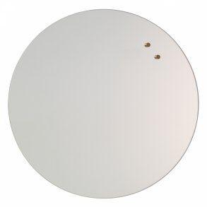 Naga Glassboard Circle, sklenená magnetická tabuľa, kruh 45 cm, zrkadlo