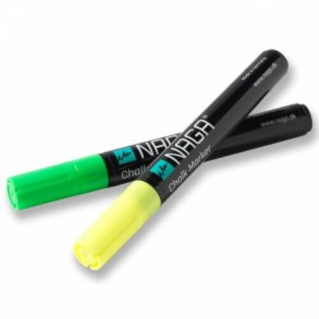 Naga Marker, kriedový popisovač, 4,5 mm, žltý/zelený, 2 ks