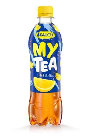 """Nápoj, nesýtený, 0,5 l, RAUCH """"Mytea"""", citrónový"""