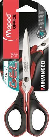 "Nožnice, univerzálne, 17 cm, MAPED ""Advanced Gel"""