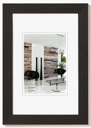 """Obrazový rám, drevený, 10x15 cm, """"Grado"""" čierny"""