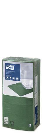 """Obrúsky """"Tissue"""", 2 vrsvové, 24x24 cm, zelené"""