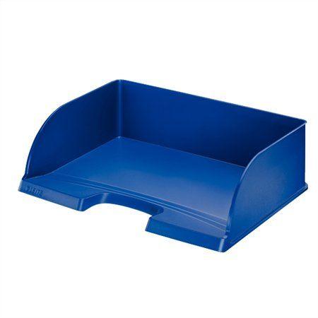 """Odkladač """"Plus Jumbo"""", otvorený z boku, modrý"""