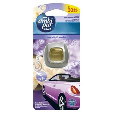 "Osviežovač do auta, 2 ml, AMBI PUR ""Car"", Moonlight vanilka"