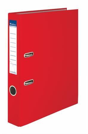 """Pákový šanón, 50 mm, A4, PP/kartón, VICTORIA  """"Basic"""", červený"""