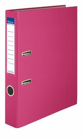 """Pákový šanón, 50 mm, A4, PP/kartón, VICTORIA  """"Basic"""", ružový"""