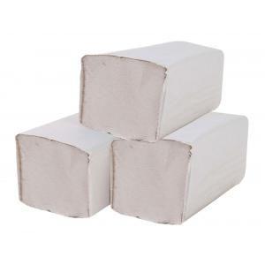 Papierové uteráky skladané ZZ 1-vrstvové sivé
