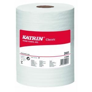 Papierové uteráky v rolke 2-vrstvové KATRIN Classic Roll M 6 ks