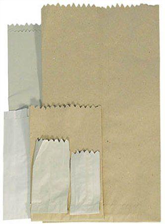 Papierové vrecká na malé predmety, 0,1 l, 1000 ks