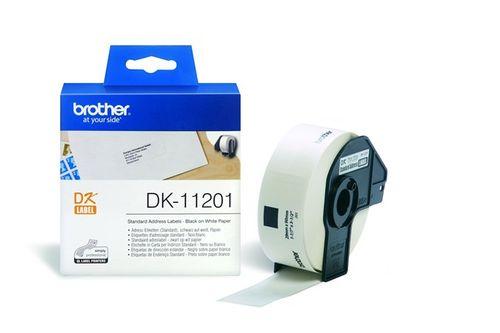Papierový štítok, ku QL prístrojom, 29 x 90 mm, BROTHER