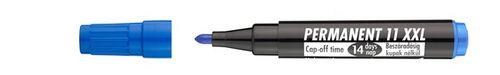"""Permanentný popisovač, 1-3 mm, kužeľový hrot, ICO """"Permanent 11 XXL"""", modrý"""