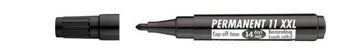"""Permanentný popisovač, 1-3 mm, kužeľový hrot, ICO """"Permanent 11 XXL"""", čierny"""