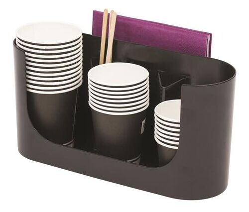 """Plastový stojan na poháre, """"Coffee break"""", ALBA"""