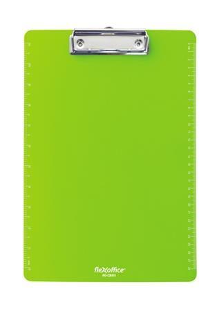 """Podložka na písanie, A4, FLEXOFFICE """"FO-CB011"""", zelená"""
