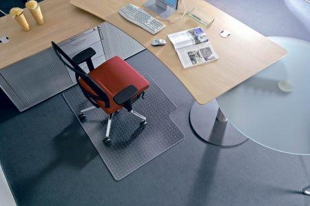 "Podložka na tvrdý povrch v tvare ""L"", 150x120cm, RS OFFICE ""Roll-o-Grip"""