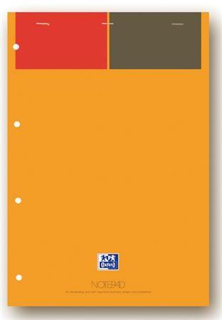 """Poznámkový blok, A4+, linajkový, 80 listov, OXFORD, """"International Notepad"""""""