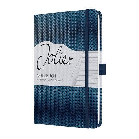 """Poznámkový blok, exkluzívny, 135x203 mm, linajkový, 174 str., tvrdá obálka, SIGEL """"Jolie"""","""