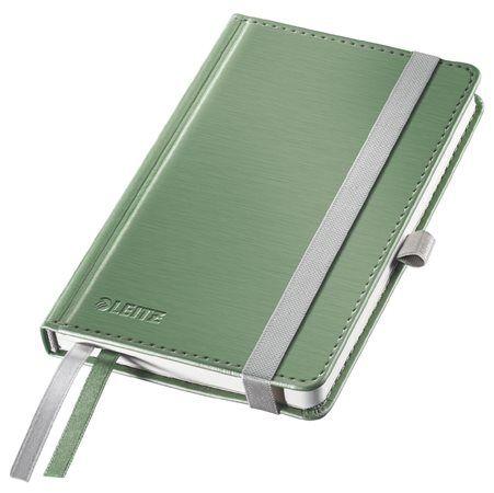 "Poznámkový zošit, A6, linajkový, 80 strán, s tvrdou obálkou, LEITZ ""Style"", olivovo zelená"