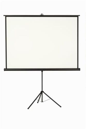 Premietacie plátno, prenosné, 1:1, 160x160 cm, VICTORIA
