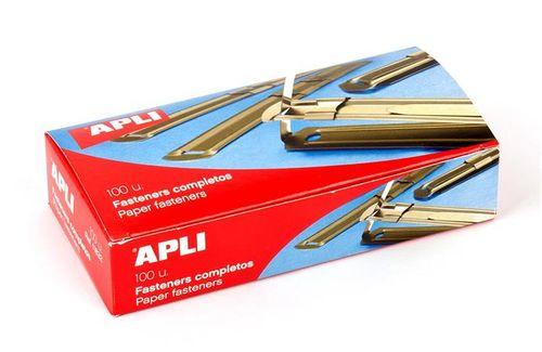 Rýchloviazacia lišta, kovová, 100 ks, APLI