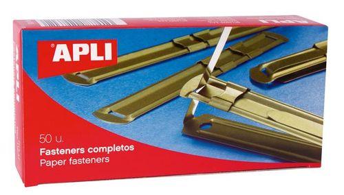 Rýchloviazacia lišta, kovová, 50 ks, APLI