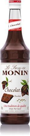Sirup, 0,7 l, MONIN, čokoládový