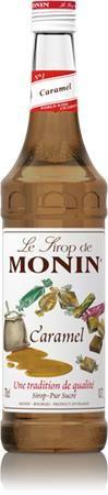 Sirup, 0,7 l, MONIN, karamelový