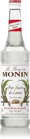 Sirup, 0,7 l, MONIN, trstinový cukor