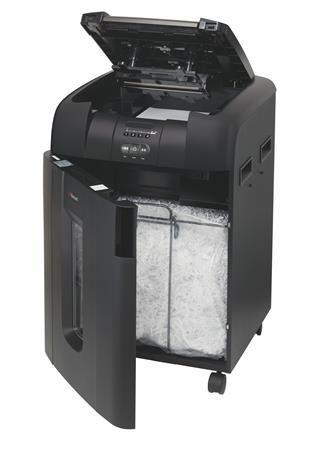 "Skartovací stroj, mikro konfety, 9 listov, REXEL ""Auto+ 600M"""