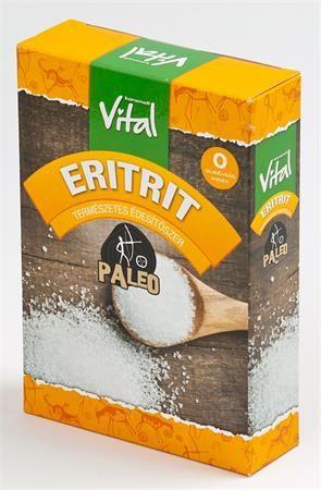 Sladidlo, eritrit, 250 g, VITAL